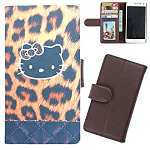 DooDa - For Micromax Canvas Juice A77 PU Leather Designer Fashionable Fancy Wallet Flip Case Cover Pouch With Card, ID & Cash Slots And Smooth Inner Velvet With Strong Magnetic Lock