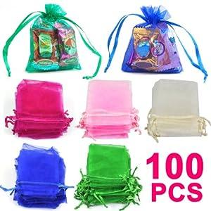 Wedding Gift Ideas Amazon Uk : ... Wedding Favor Gift Bags Jewellery Pouches: Amazon.co.uk: Kitchen
