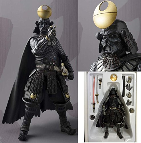Starwars Samurai Action Figures Darth Vader Size 7 inches Move able Arm and Leg with Samurai