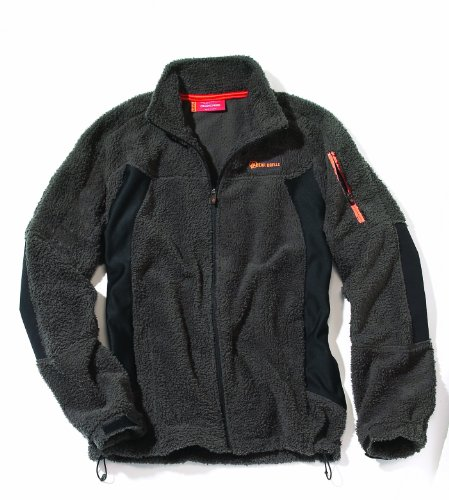 Bear Grylls Men's Men's Basecamp Fleece,Black Pepper/Black,Small