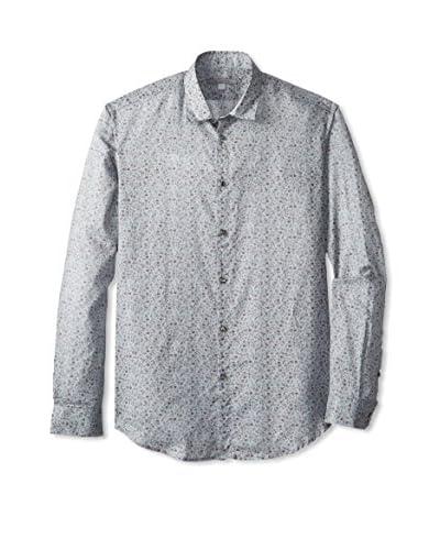 John Varvatos Collection Men's Slim Fit Short Collar Shirt