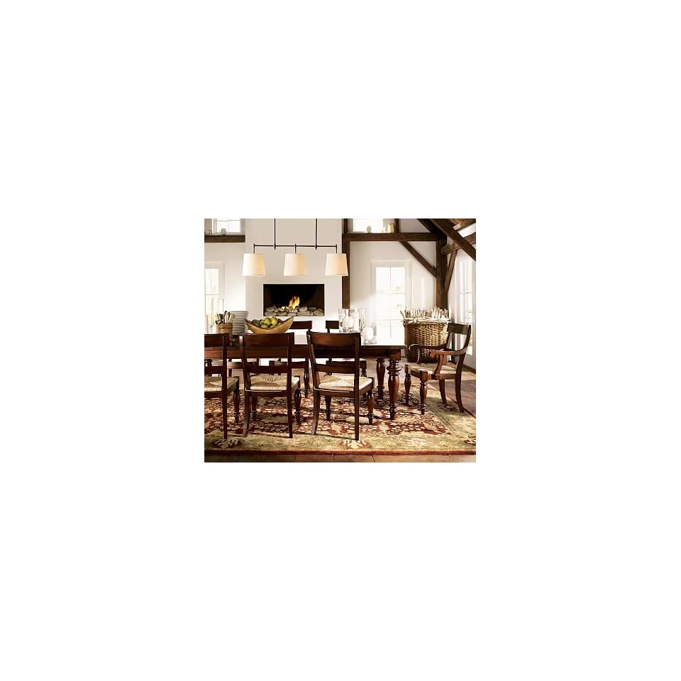 Pottery Barn Montego Chairs: Pottery Barn Montego Rush Seat Chair On PopScreen