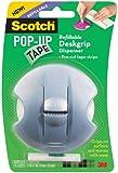 Scotch(R) Pop-Up Tape Refillable Deskgrip Dispenser, 0.75 x 2 Inches (98-G)