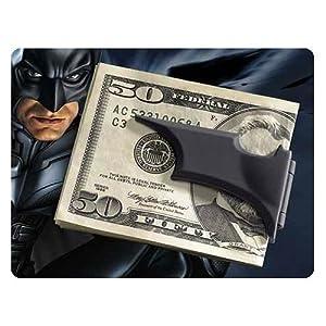 Batman The Dark Knight Rises Folding Batarang Satin Black Money Clip at Gotham City Store