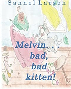 Buy Melvin...bab, bad kitten! today