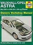 Vauxhall/Opel Astra Diesel (04-08)