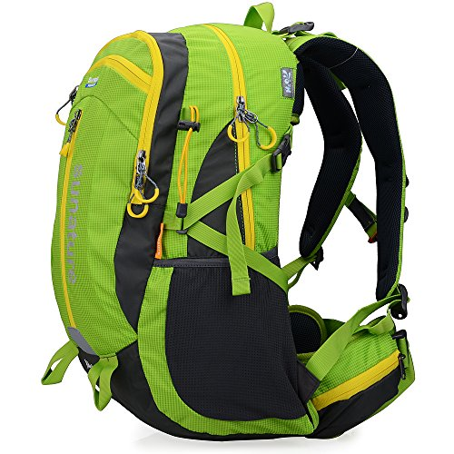 Altosy 40 Hiking Pack Cycling Hiking Backpack Water-resistant Daypack 2387 (Green)