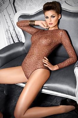 Tessoro - Sexy Damen Body aus transparentem Tüll