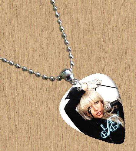 LADY GAGA Premium Guitar Pick Necklace