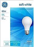 GE Lighting 41028 60-Watt A19, Soft White, 8-Pack
