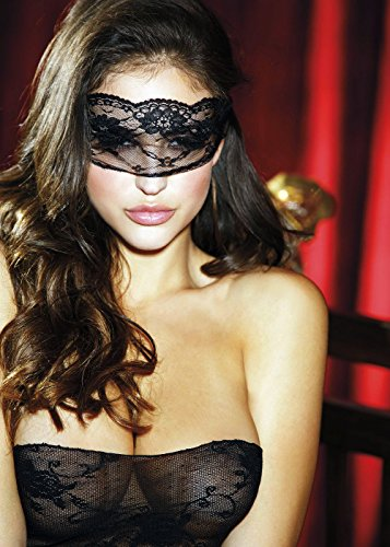 Sexy Mysterious Masquerade Floral Laced Tie Back Ball Mask Lingerie Adult Women