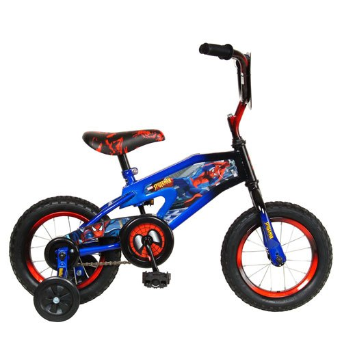Spiderman 12-Inch Kid's Bicycle