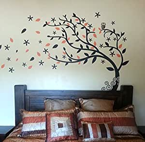 Bedroom Decor Must Have Elegant Tree Black