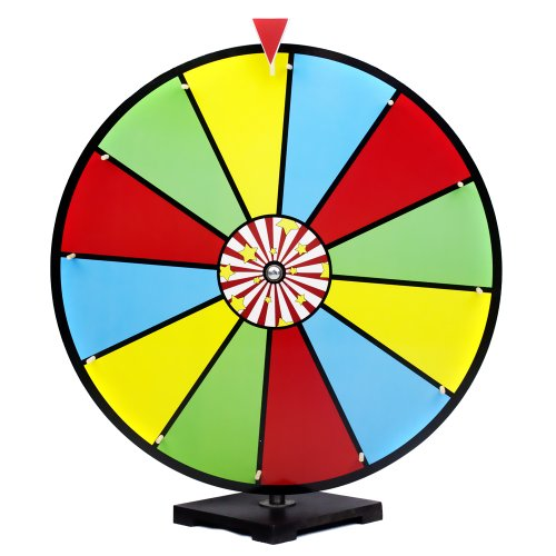 Great Features Of 24 Inch Color Dry Erase Prize Wheel by Midway Monsters