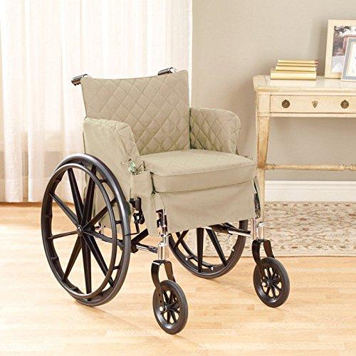 "Twill Supreme Desk Wheelchair Slipcover Color: Loden, Size: 16"" W x 16"" D"