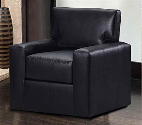 Durable Swivel Armchair (Saddle)