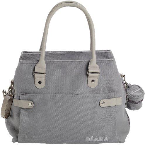 BEABA Stockholm Diaper Bag - Gray - 1