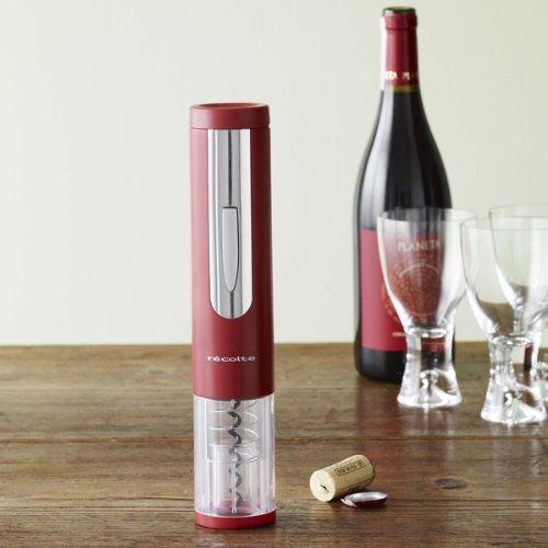 recolte レコルト ez Wine Opener イージーワインオープナー ボルドーレッド EWO-1(BD)