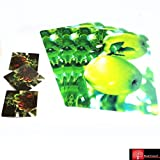 Red Forest 3D Tablemat With Coaster Set Of 12 Pcs (green apple)