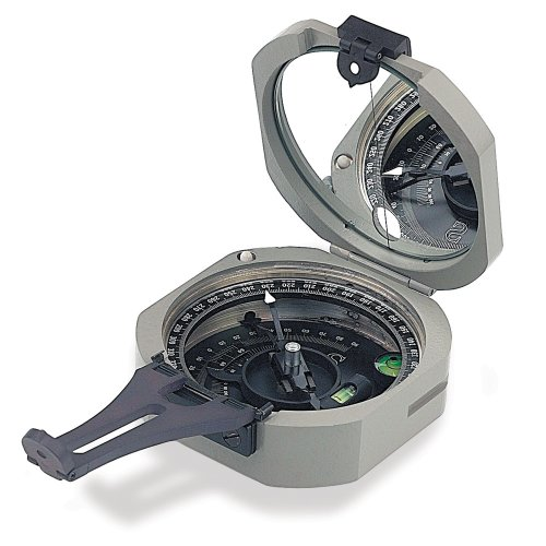Brunton Pocket Transit International Compass with 0-360 Degree Scale