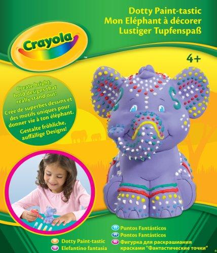 Imagen principal de Crayola 10630 - Puntos Fantásticos Decora Tu Elefante