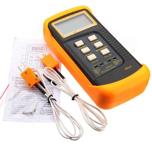 6802Ii Digital Thermometer K-Type Temperature Meter Tester Sensor
