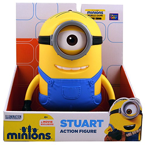 The Minions Stuart Action Figure [7.5 Inches]
