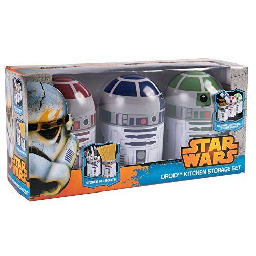 Kitchen Set Node Attributes: Underground Toys Star Wars Home Kitchen Storage Set Droid