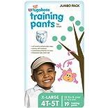 Rite Aid Tugaboos Training Pants for Boys, Jumbo Pack, XL/4T-5T, 38 lbs+, 19 ea