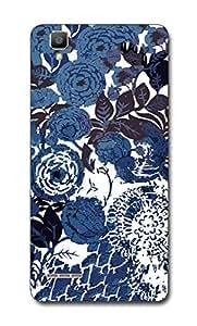 SEI HEI KI Designer Back Cover For Oppo F1 - Multicolor