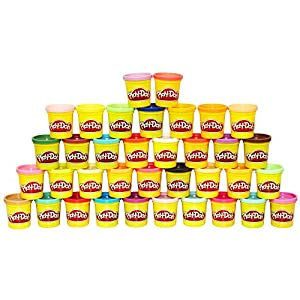 Amazon Com Play Doh Mega Pack 36 Cans Toys Amp Games