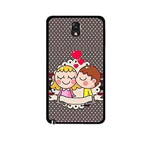 Vibhar printed case back cover for Samsung Galaxy Note 3 Neo 2Love