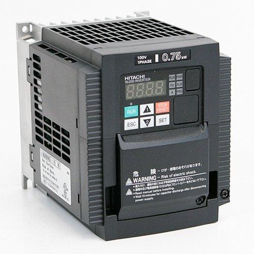 Hitachi Wj200 007mf 1 Hp 115 Vac 1 Phase Input Vfd