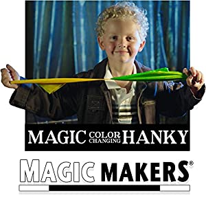 Magic Makers Color Changing Hanky and Stop Light Cards - Easy Magic Tricks