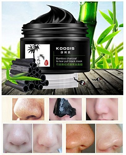 KOOGIS Bamboo Charcoal Tearing Blackhead Removal Mask Deep Clesing Acne Facial Nose by Abcstore99 (Face Wax For Women compare prices)