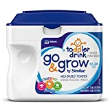 Go & Grow by Similac, Stage 3 Milk Based Toddler Drink, Powder, 1.38 LBS  (Pack of 6)