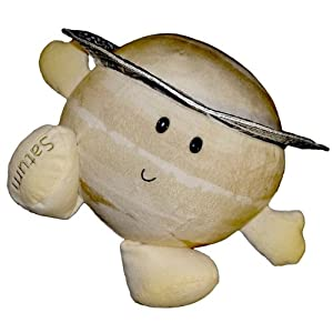Solar System Plush - Planet Saturn Stuffed Toy