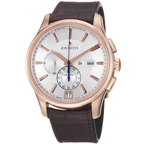Zenith El Primero Captain Windsor Chronograph Mens Rose Gold Watch 18.2070.4054/02.C711