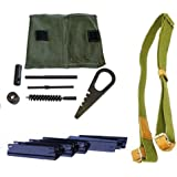 Mosin Nagant Cleaning Kit; Sling; and 5 Pack Stripper Clip Combo