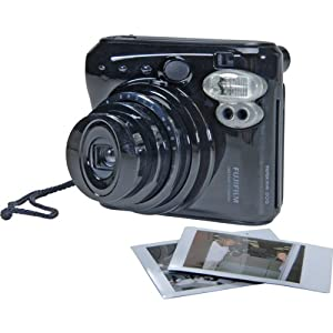 Fujifilm 16102240 Instax Mini 50S Camera (Piano Black)