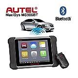 AUTEL MaxiSys MS906BT Wireless Auto Diagnostic Scanner OBD2 Bluetooth ECU Coding Scanner Autel Scanner Support Update Online