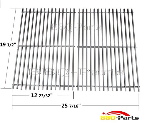 7528 BBQ Barbecue Replacement Stainless Steel Cooking Grill Grid Grate For Weber Genesis E And S Series Gas Grills, Lowes Model Grills
