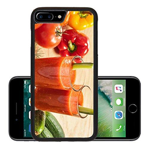 Liili Premium Apple iPhone 7 Plus Aluminum Snap Case Healthy drink vegetable juice studio shot IMAGE ID 17721936 (California Cool Dill compare prices)