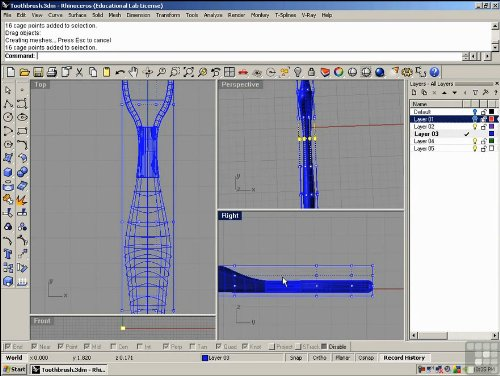 Rhino 4 training dvd tutorial video learning made easy Easy 3d modeling software