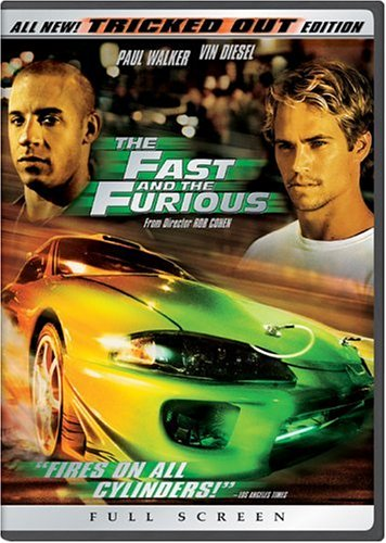 the fast and the furious full screen tricked out edition dvd 2001