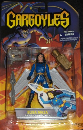 Gargoyles: Elisa Maza with Rocket Wing Jet Pack - 1
