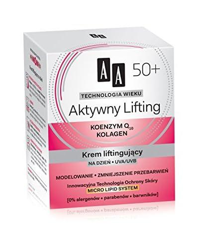 AA Cosmetics Crema Viso Giorno Technology Wieku 50+ 50 ml