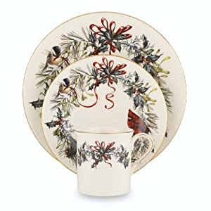 Lenox Winter Greetings 12-Piece Dinnerware Set, Service for 4 at Sears.com