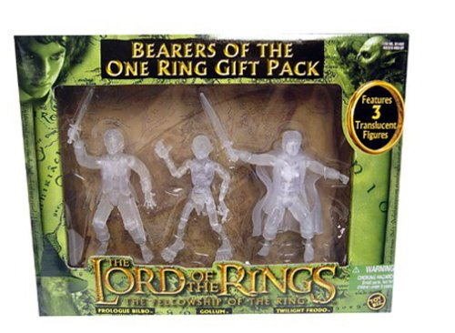Lord of the Rings Fellowship of the Ring Bearers Of The One Ring Action Figure MultipackB0000DJYPB : image