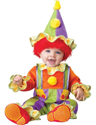 Cuddly Clown Baby Costume 6-12 Months
